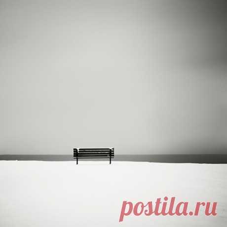 Холодный черно-белый минимализм в пейзажах Josef Hoflehner +34 » Фотоблоги России