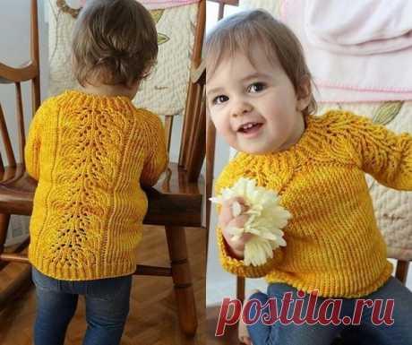Детский свитер регланом сверху спицами: свитер спицами реглан для мальчика