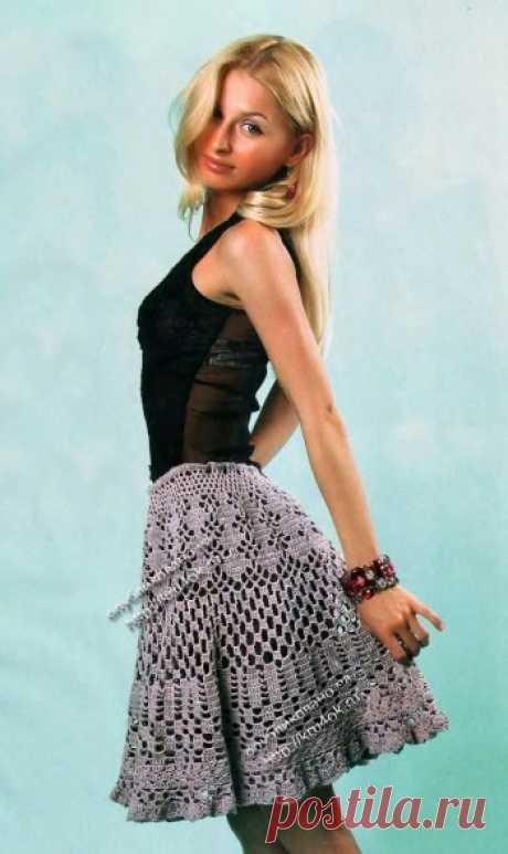 La falda chiné