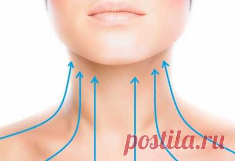 I am shocked! Wrinkles and feeling sick appear from behind flabbiness of a hypodermic muscle of a neck...