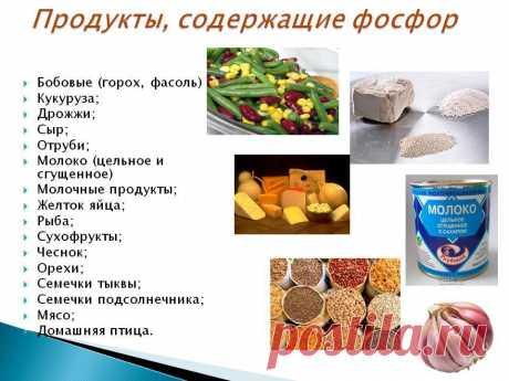 Название: В каких продуктах содержится фосфор - Школьные Знания.com Найдено в Google. Источник: znanija.com