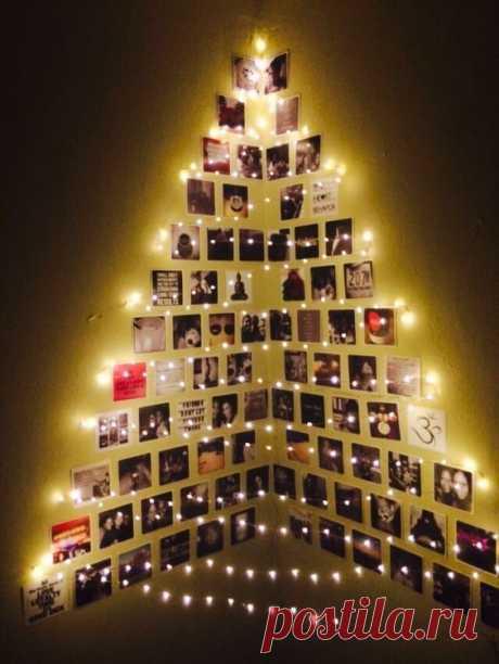 Семейные елочки с фотографиями — DIYIdeas