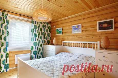 Спальня на даче: 40 реальных фото и красивые идеи дизайна