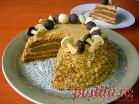 Орехово-кофейный торт / Торт на День рождения! На мой взгляд, на День рождения, самое главное вкусный торт и много подарков) Ни один покупной торт не сравнится с домашним тортом. Я предлагаю рецепт орехово-кофейного торта, в качестве торта на праз...