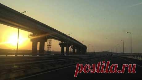 С Крымским мостом опять беда. Информация из украинских СМИ.   Крым сегодня.   Яндекс Дзен