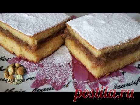 Ленивый яблочный пирог/Лења пита/ Apple Cake