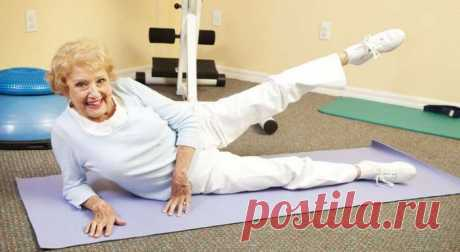 Тренировка по-домашнему после 40: 5 упражнений для зрелых и цветущих — ХОЗЯЮШКА24