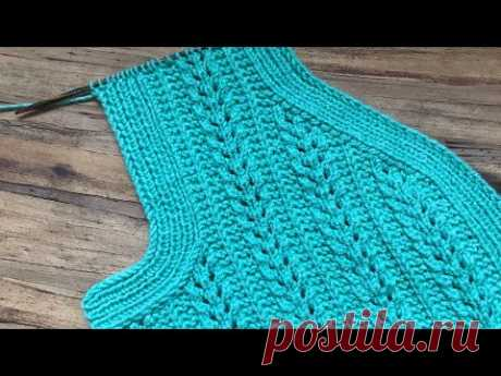 yelek kol ve yaka kesimi / yelek modelleri/❤️ Knitting Patterns /Strickmuster