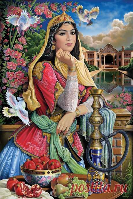Схема вышивки «žena» - Вышивка крестом