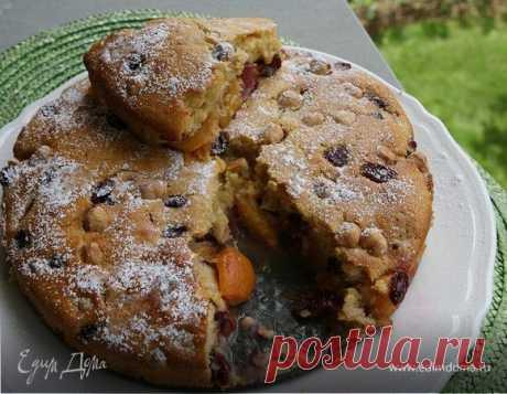 Как приготовить Пирог с нектаринами и клюквой Пошаговый рецепт с ингредиентами и фото