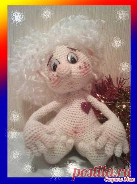 . Снежный ангелочек - Игрушки своими руками - Страна Мам