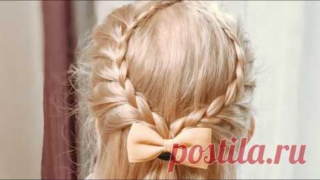 Прическа Капелька из кос Прическа Капелька из кос Детские прически Наш сайт https://kidhairstyle.com Прически для девочек #childrenshairstyiles #hairstyles #style #beauty #hairdresse...