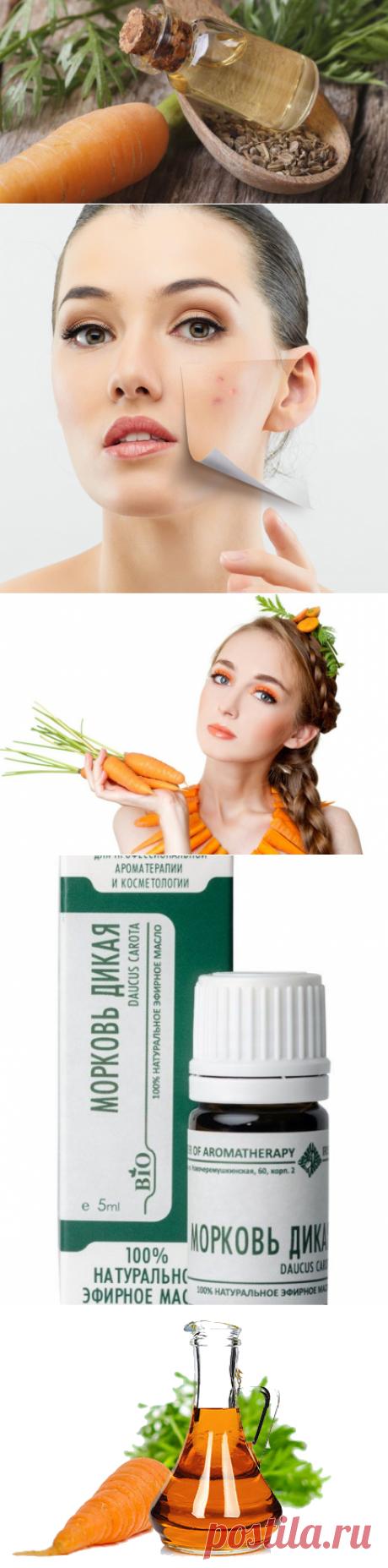 Морковное масло: молодость и здоровье