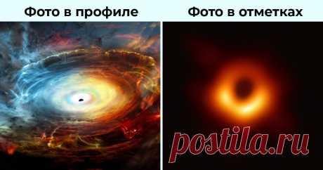 Пончик или Око Саурона? Собрали лучшие мемы про первое в истории фото чёрной дыры