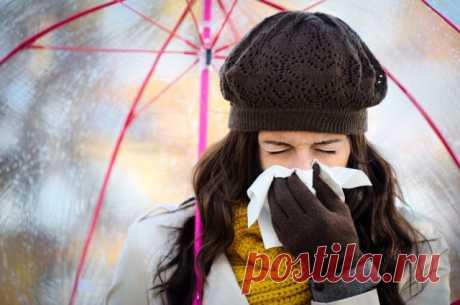 Срочные меры при первых признаках простуды! — Полезные советы