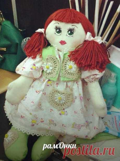 кукла ручной работы 45 см