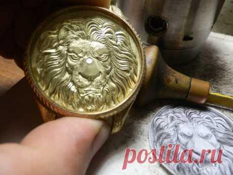 Ручная гравировка штихелем.Циферблат 0667403919