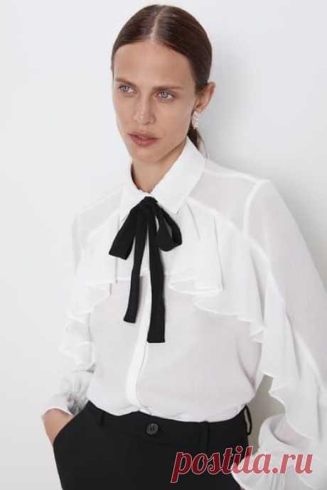 Идеи блузок и их деталей