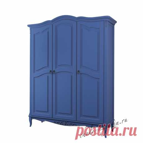 Шкаф распашной синий классический