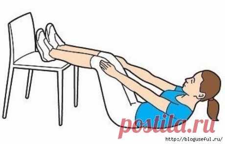 Упражнения со стулом для всего тела