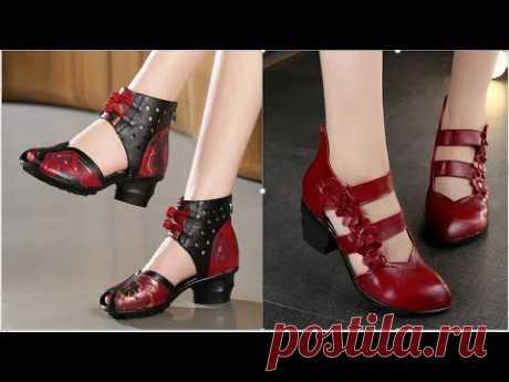 Zapatos de Moda - Tacon Bajo muy Elegantes