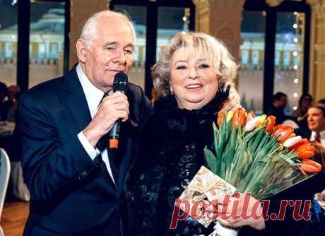 Татьяна Тарасова и Леонид Рошаль