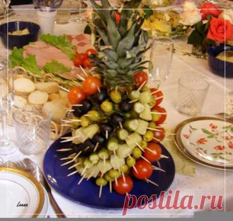 Pineapple snack - the culinary recipe