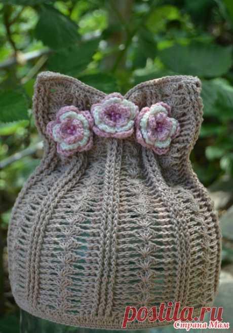Котошапка летняя - Вязание для детей - Страна Мам