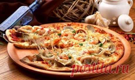 Тесто для пиццы без дрожжей рецепты