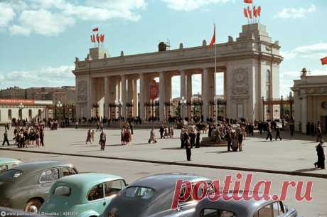 Москва пятидесятых любо дорого смотреть