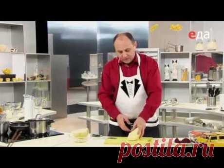 Как нашинковать капусту тонкой соломкой - 1-ый способ / мастер-класс от шеф-повара / Илья Лазерсон