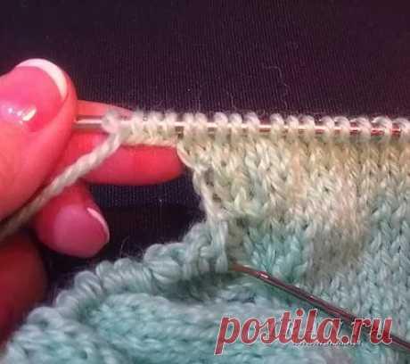 Как вязать подрезы рукава в изделиях реглан сверху вниз