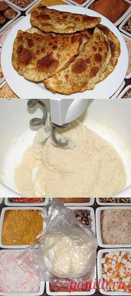 Заварное тесто для чебуреков, пельменей и т.п. | Вкусно и Просто!!!