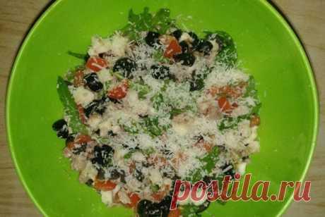 Салат «Роверето» с печенью трески и оливками рецепт – европейская кухня: салаты. «Еда»