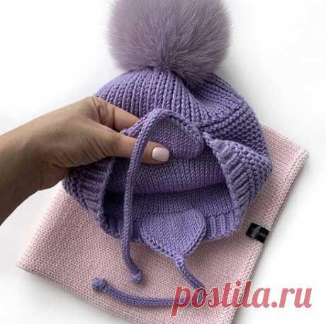 Как связать ушки для красивой шапки-ушанки из категории Интересные идеи – Вязаные идеи, идеи для вязания