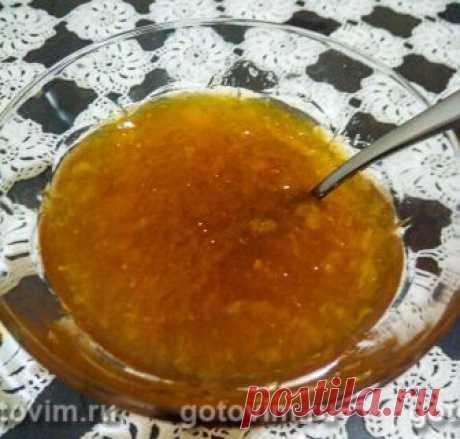 Апельсиновый джем. Рецепт с фото