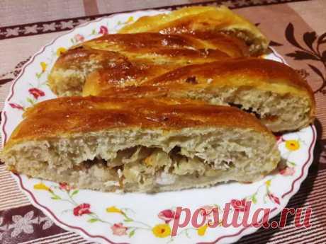 (3) Закусочный пирог-плетёнка — замечательный вариант для завтрака или перекуса - Ваши любимые рецепты - медиаплатформа МирТесен