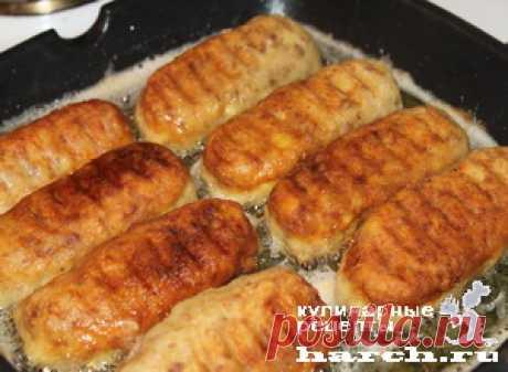 >Колбаски свиные с картофелем по-армянски.