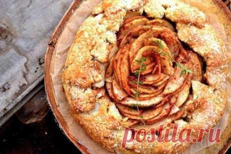 Как приготовить яблочная кростата - рецепт, ингредиенты и фотографии