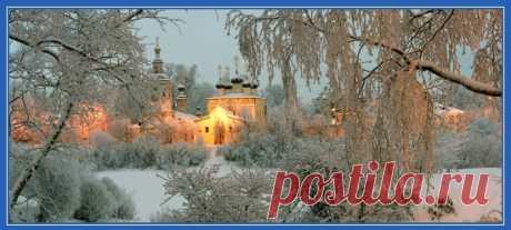 Зимние храмы православной Руси. Обои | СЕМЬЯ и ВЕРА
