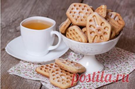Вафельное печенье в вафельнице - рецепт с пошаговыми фото / Меню недели