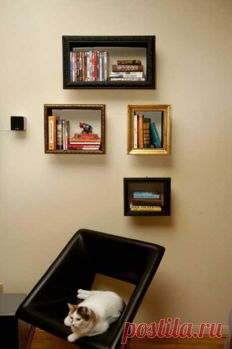 Пять самых надежных типов книжных полок