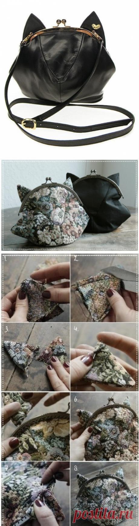 Изготовление необычной сумочки: мастер-класс — Сделай сам, идеи для творчества - DIY Ideas