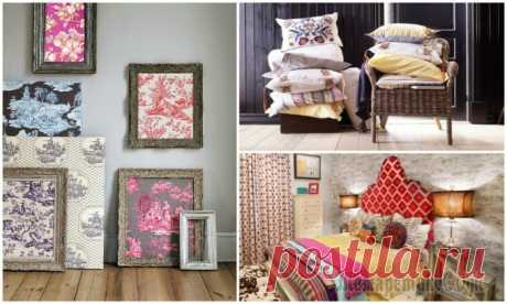 Нестандартные идеи, как с помощью текстиля создать уютный домашний интерьер