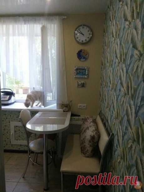 Уютные светлые кухни 6-6.5 кв. м | Mebel.ru | Яндекс Дзен