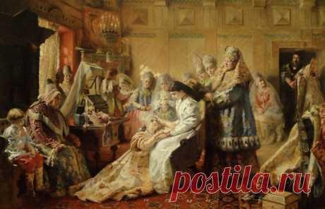 Las tradiciones de boda: el dote de la novia en el tiempo antiguo