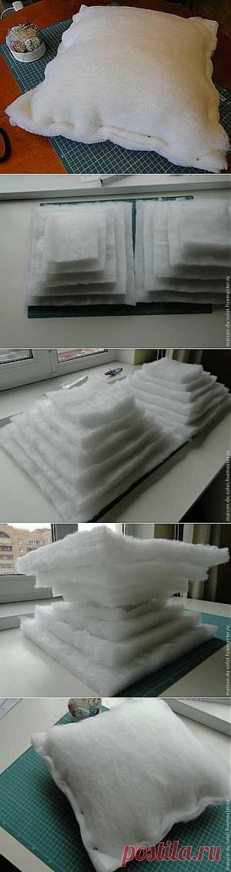 Шьем подушку