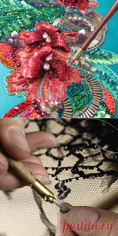 Lyunevilsky hook and other secrets of a lyunevilsky embroidery