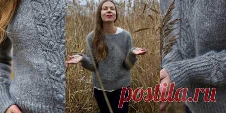 Пуловер без швов Shimo - Вяжи.ру