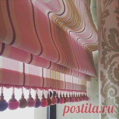 Пошив красивых римских штор своими руками — Сделай сам, идеи для творчества - DIY Ideas